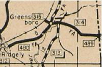 MD 315, 1939