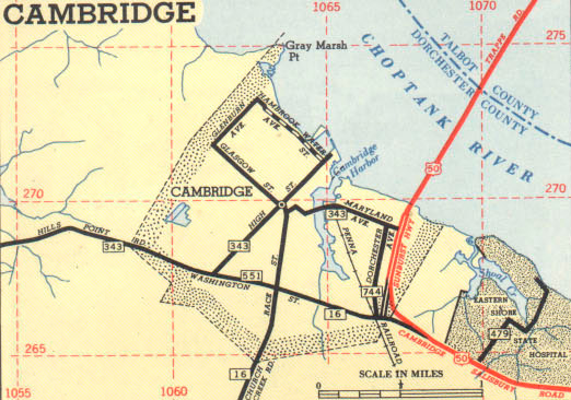 Cambridge Area, 1953