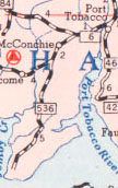 MD 536, 1955