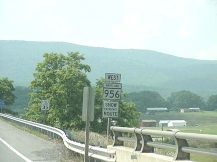 MD 956 Sign