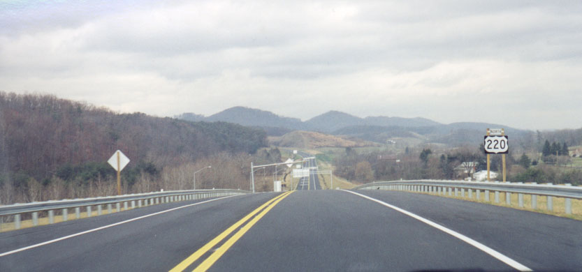 New US 220, Cumberland