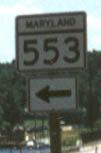 MD 553 Marker