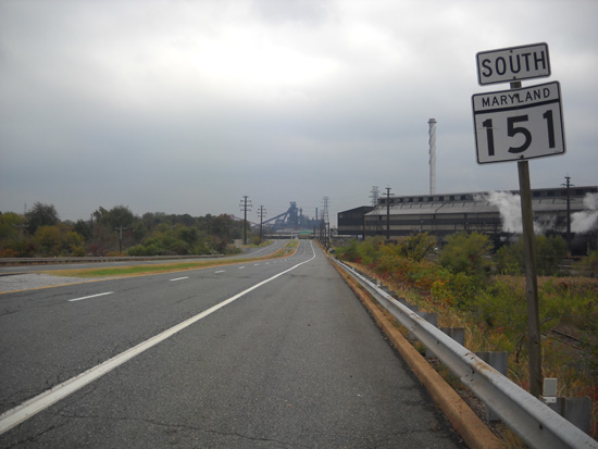 MD 151, Sparrows Point, 2010