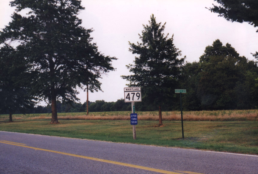 MD 479 Sign - Cambridge