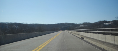 US 522 bridge